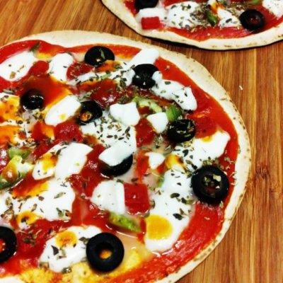 tortilla sabor pizza